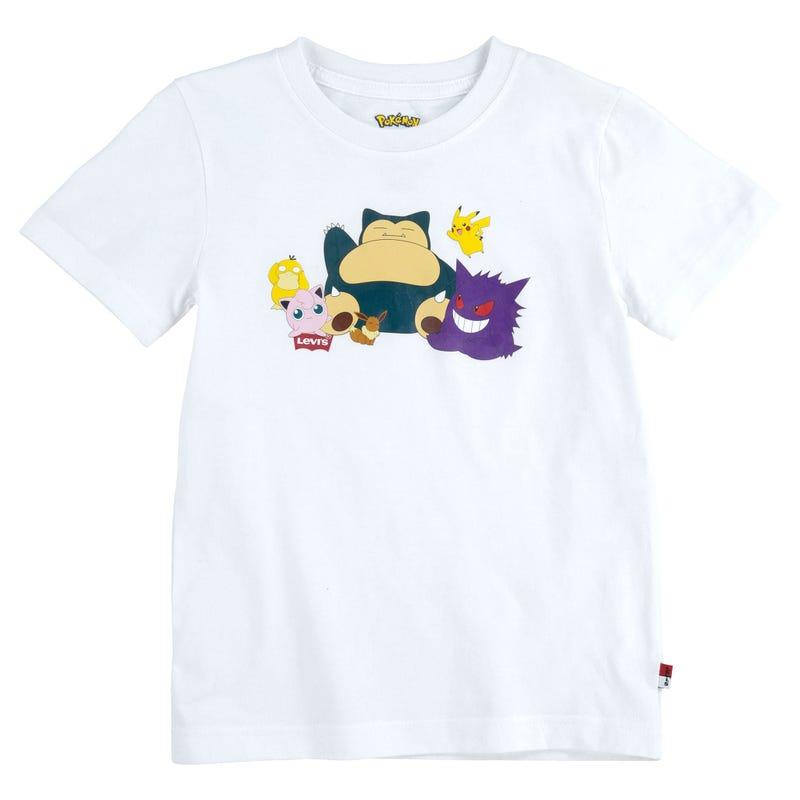 T-Shirt Pokemon 4-7ans
