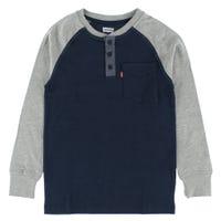 T-Shirt Henley Poche 8-16ans