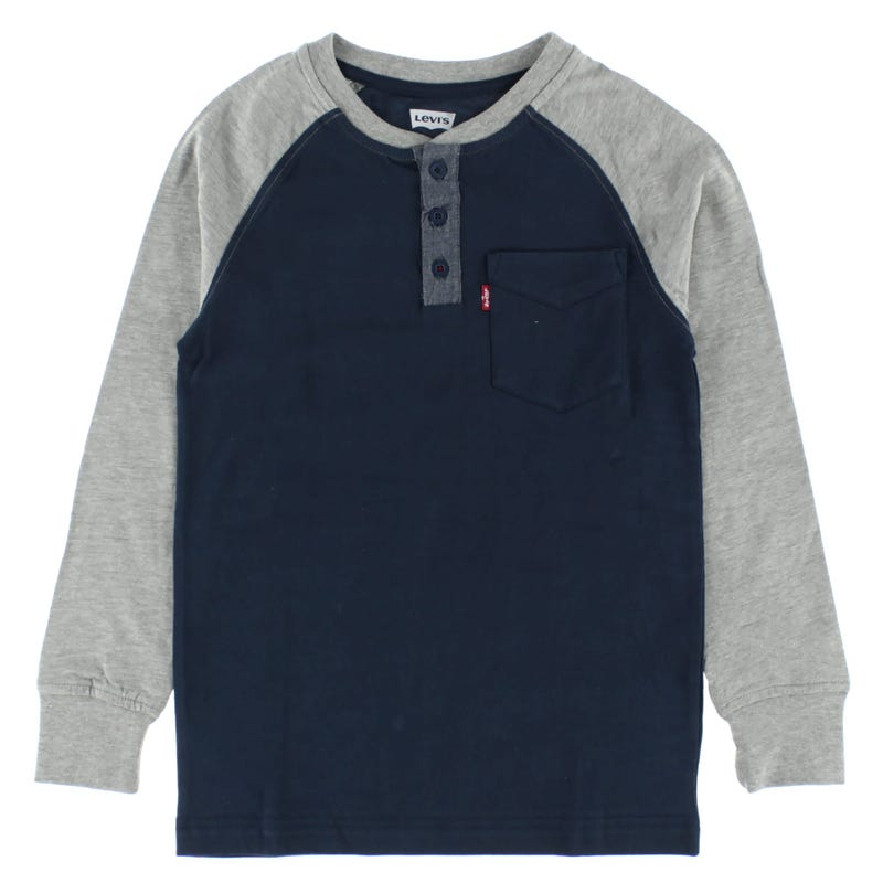 Pocket Henley T-Shirt 8-16years