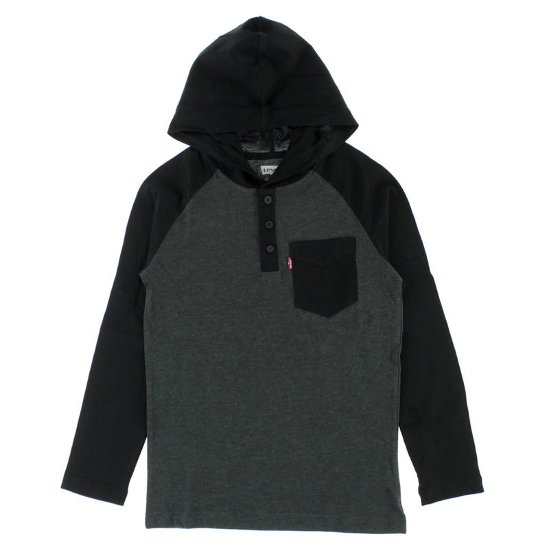 Raglan Hooded T-Shirt 8-16years