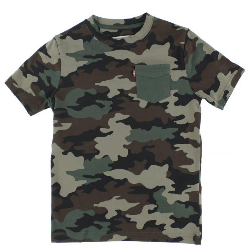 T-shirt Imprimé Camo 8-16ans
