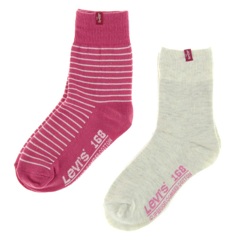 Striped Socks Set of 2 Sizes 5-11