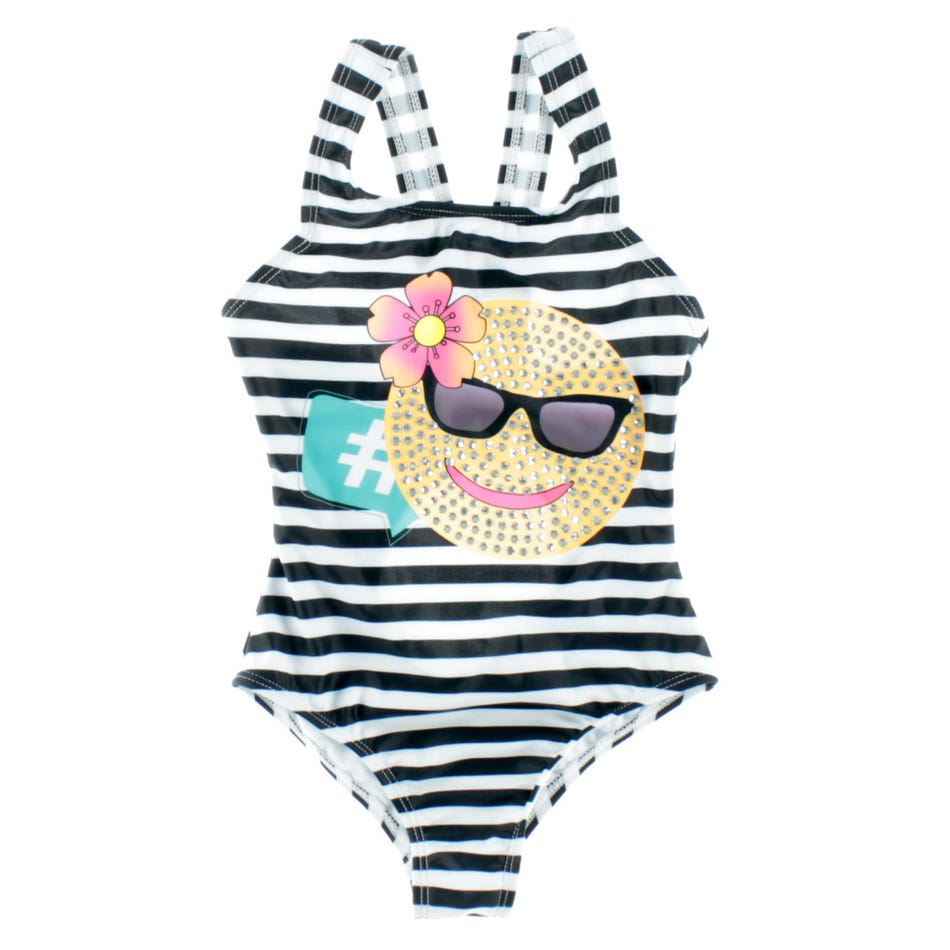 852a8f0d8e Limeapple Fun Striped Swimsuit 4-14y - Clement