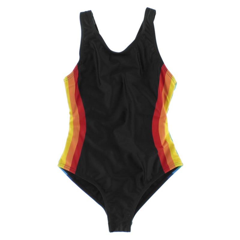 Rainbow 1 Pcs UV Swimsuit 4-14y