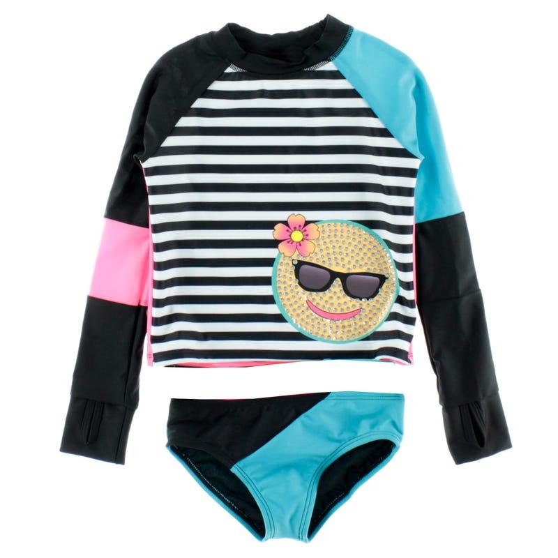 T-Shirt Maillot 2 Pièces Fun 4-14ans