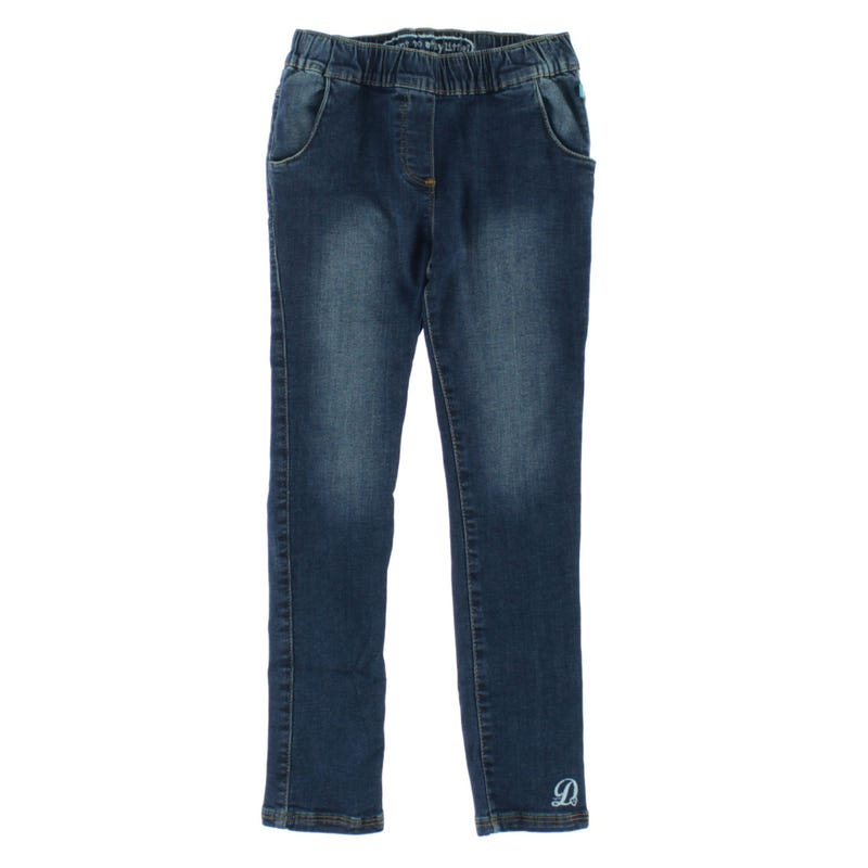 Jegging Denim Papillons 3-7ans
