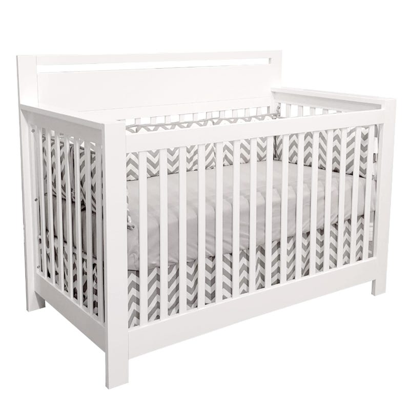 Couchette Convertible Emily - Blanc