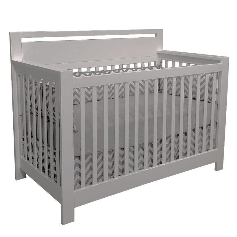 Emily Convertible Crib - Grey