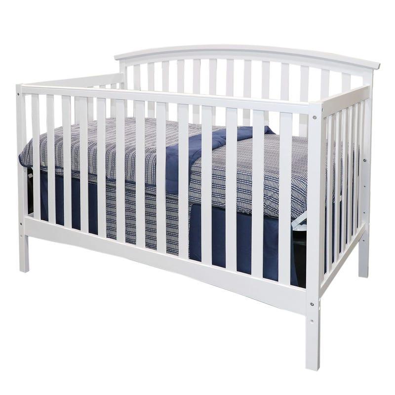 Janney Crib - White
