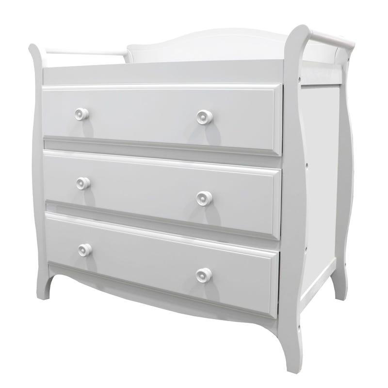 meuble a langer blanc