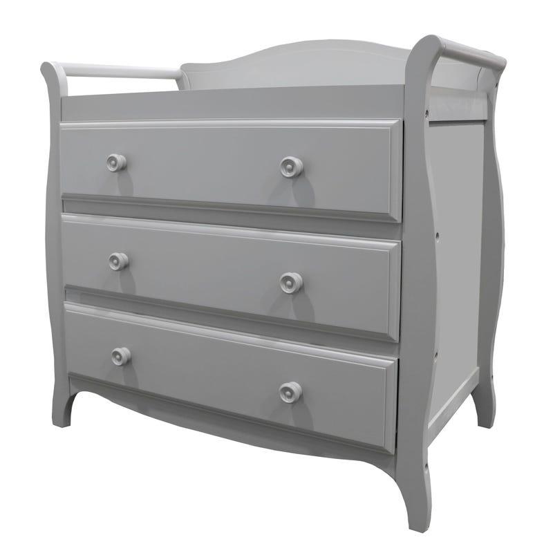 meuble a langer gris