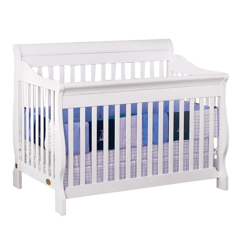 Naples Crib - White