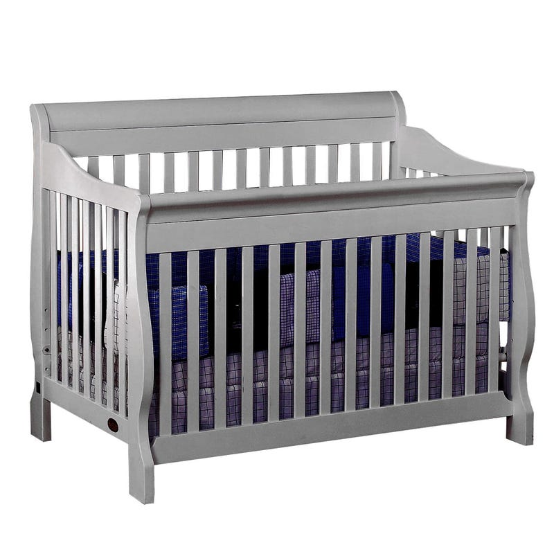 Naples Crib - Gray