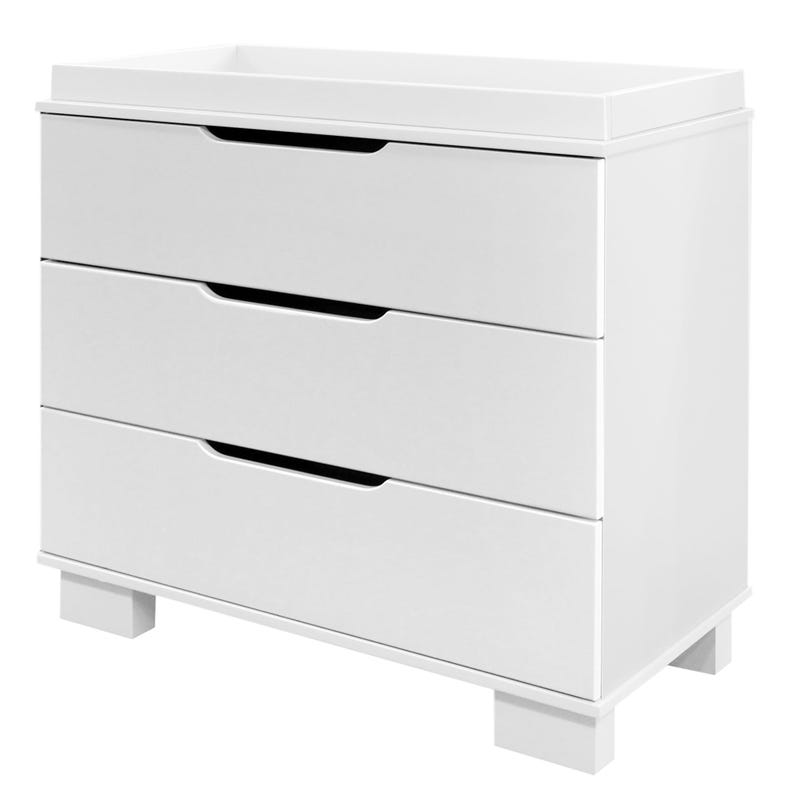 3 Drawers Chest White