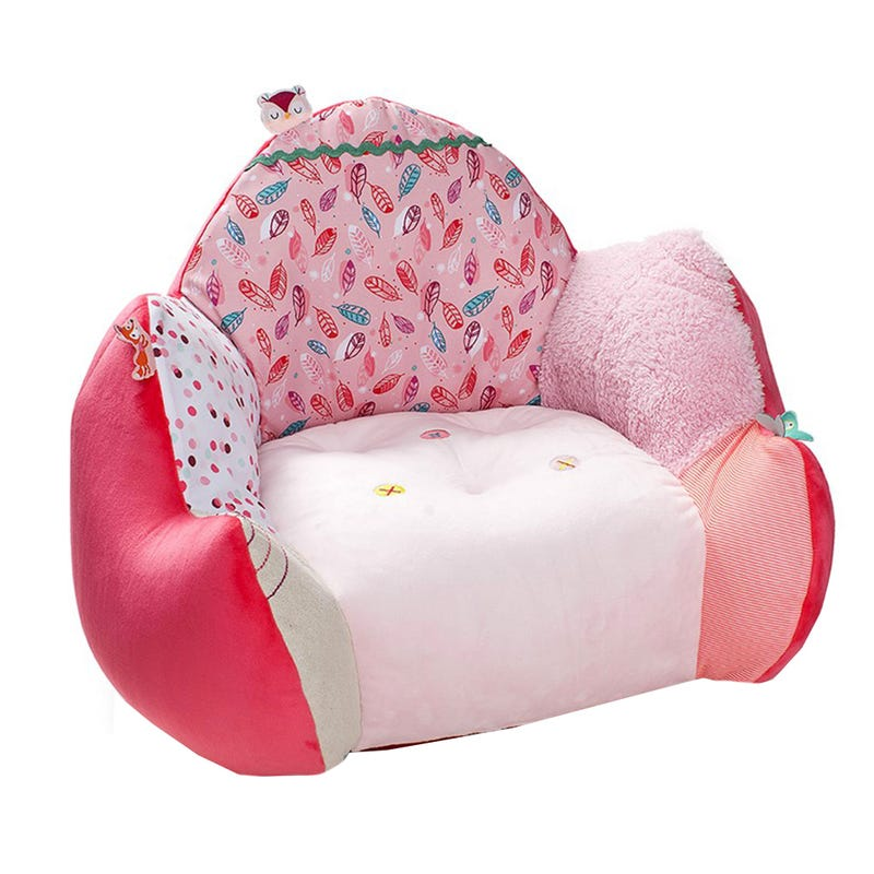 Sofa Enfant Louise - Rose