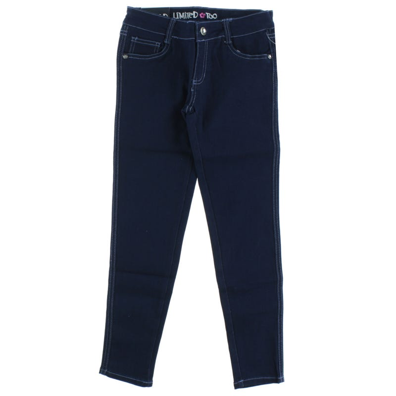 GIRL DENIM DARK JEANS 7-16