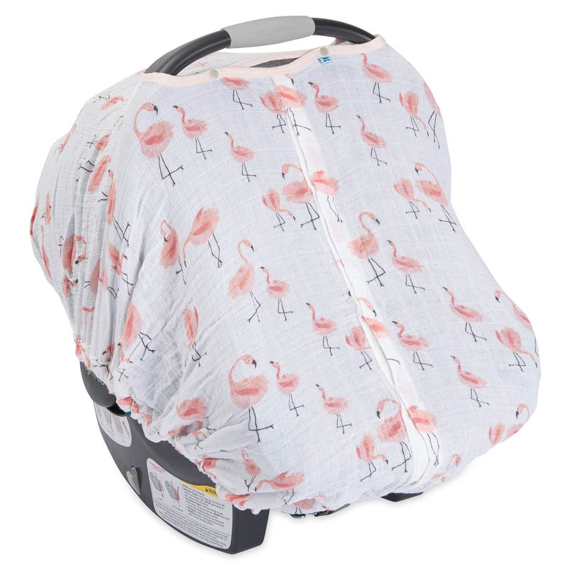 Car Seat Canopy - Pink Ladies