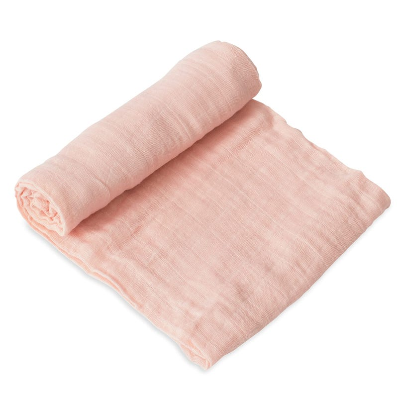 Couverture Mousseline - Rose Pétales