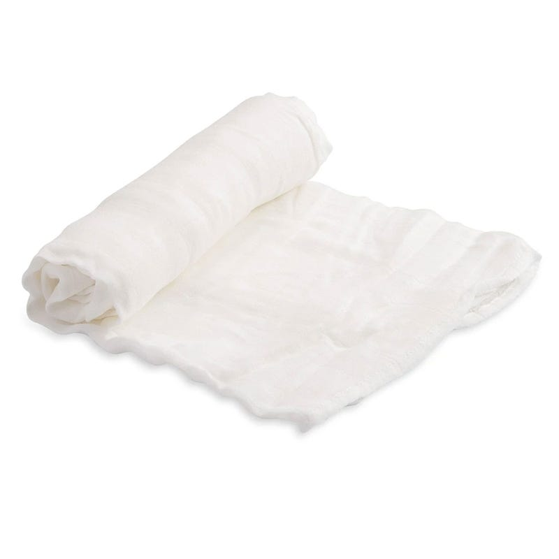 Deluse Muslin Bamboo Blanket - White