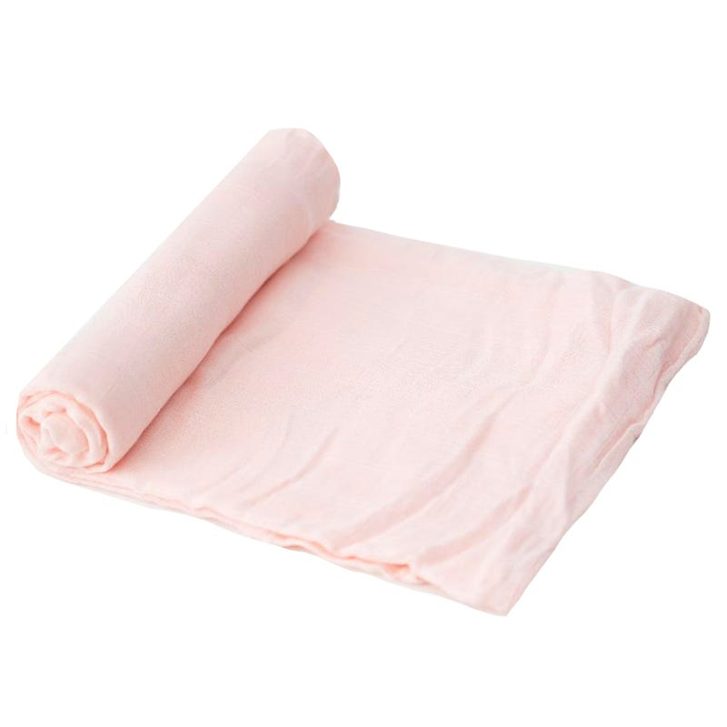 Deluxe Muslin Bamboo Swaddle - Pink Blush
