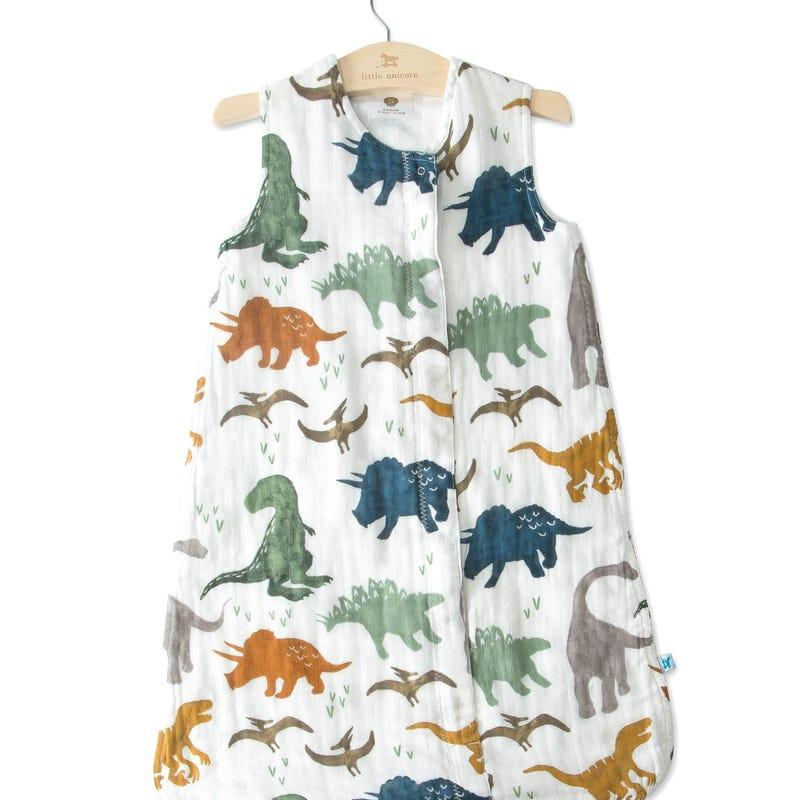 Sac de Nuit Mousseline Dinosaure 0-6mois