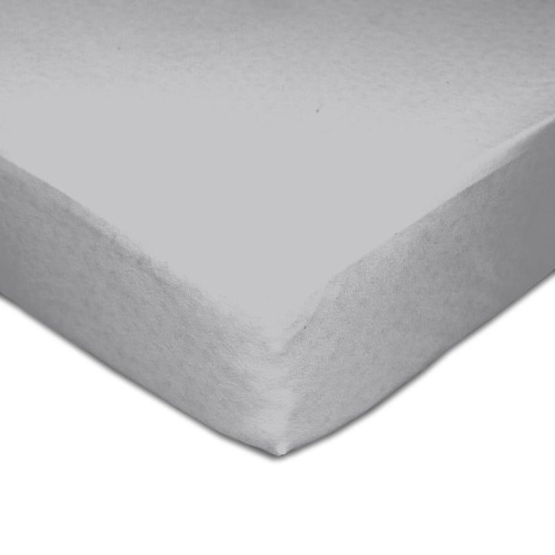 Muslin Crib Fitted Sheet - Gray