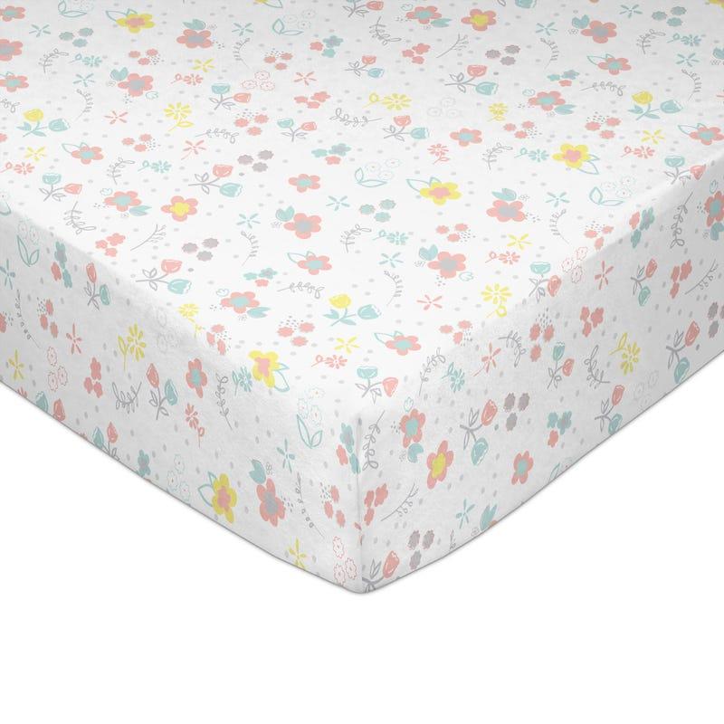 Crib Fitted Sheet - Primrose