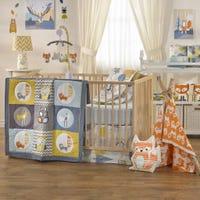 4-Piece Crib Bedding Set - Woods