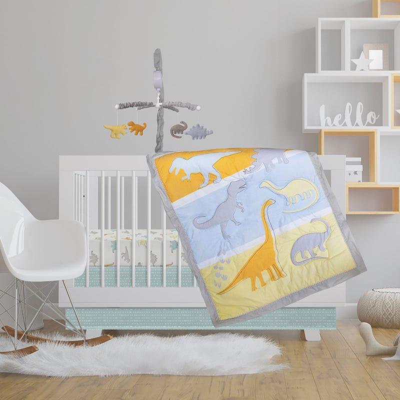 4-Piece Beddind Set - Dino Land