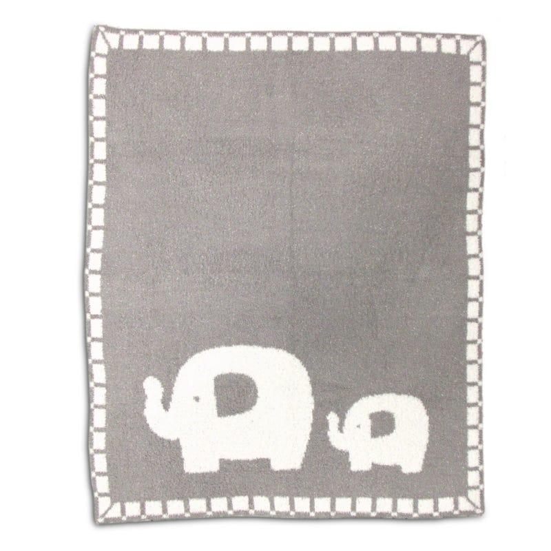 Couverture Bébé Éléphant - Gris