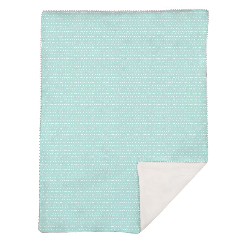 Baby Blanket Mint Dino