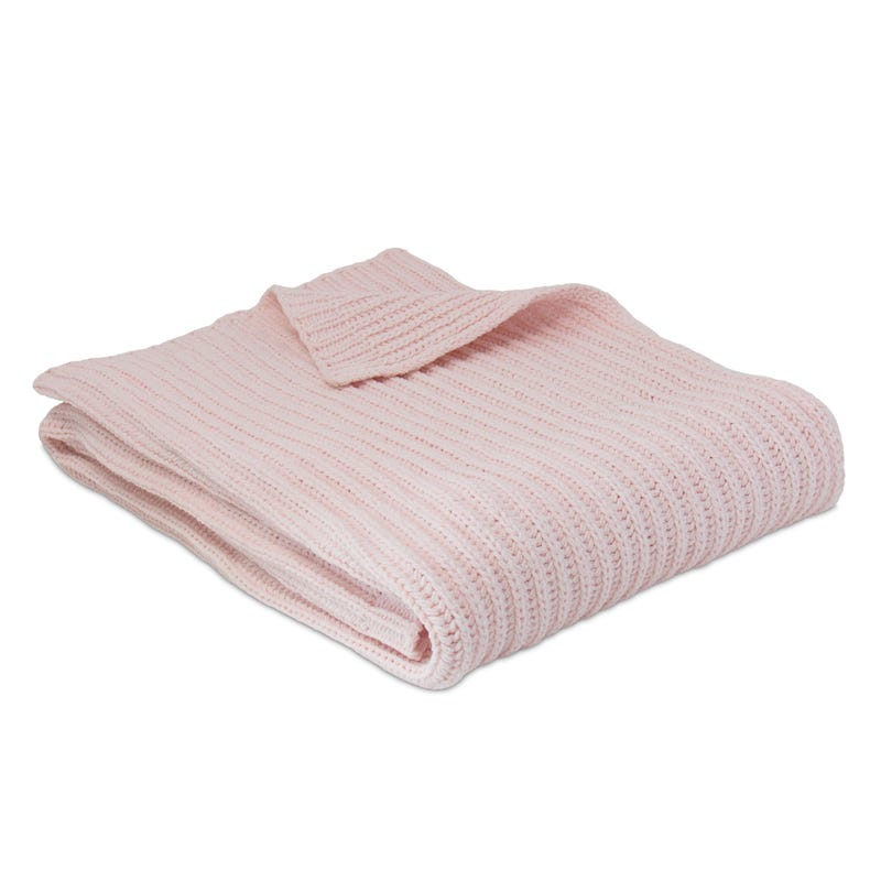 Couverture en Chenille - Rose