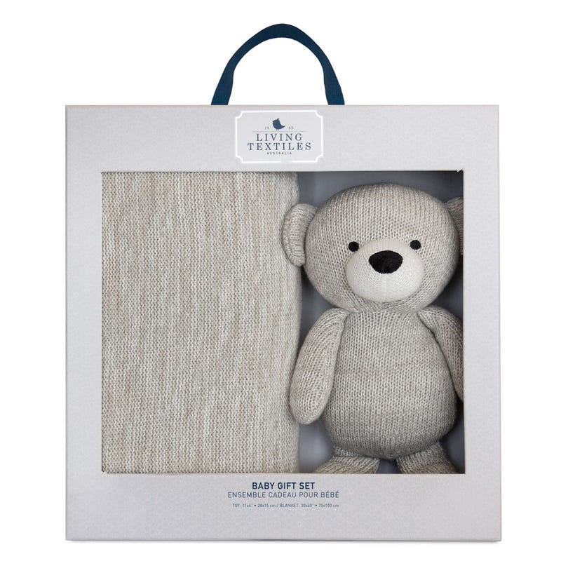 Bento Gift Set Bear + Blanket
