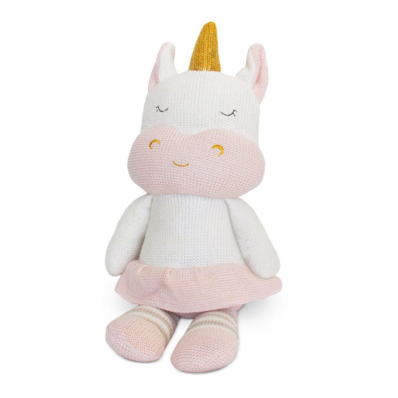 Knit Plush Toy Unircorn Kenzie
