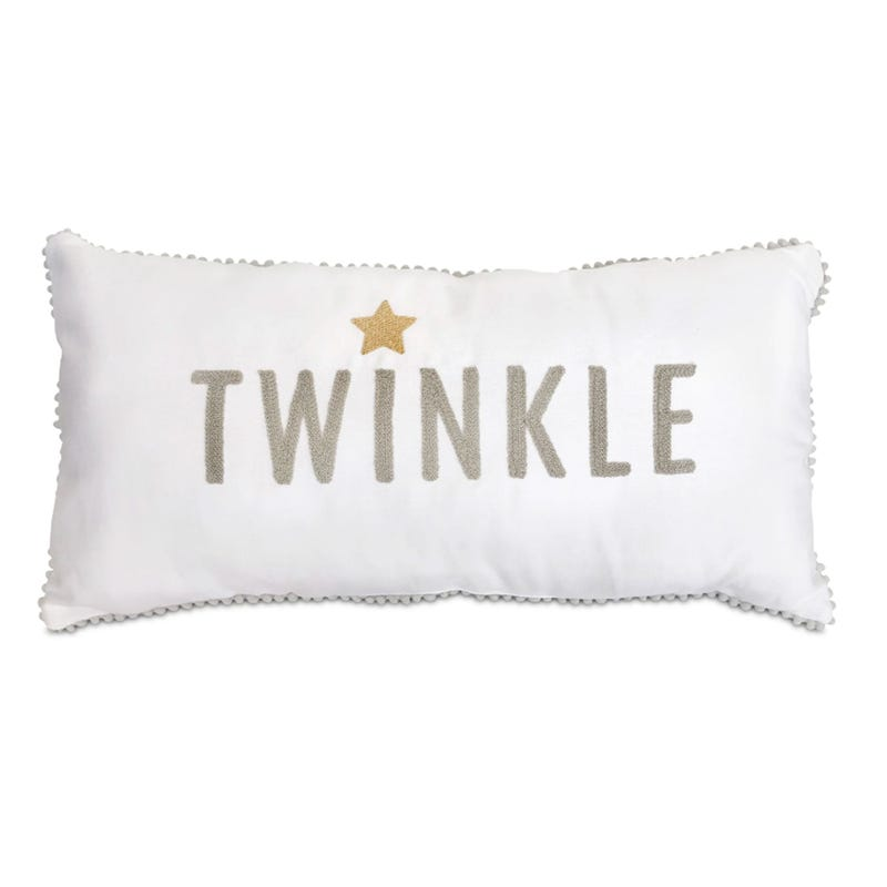 Coussin Blanc Twinkle