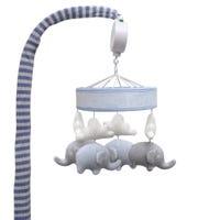 Mobile Musical Éléphant - Bleu