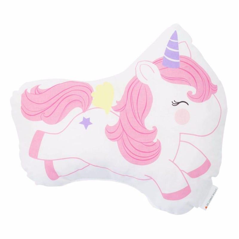 Jumping Unicorn Cushion