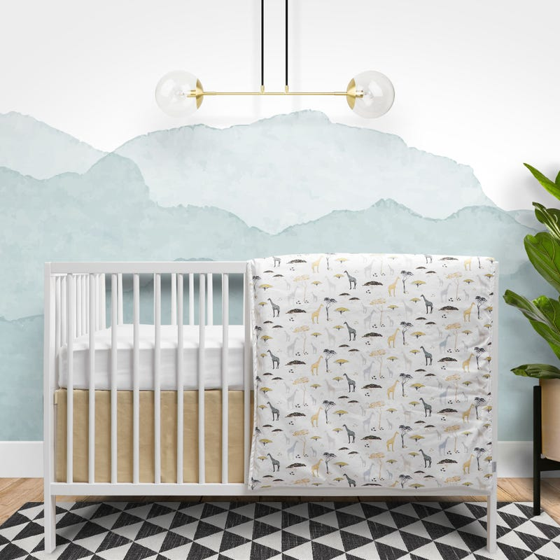 Bedding set 4pieces Safari