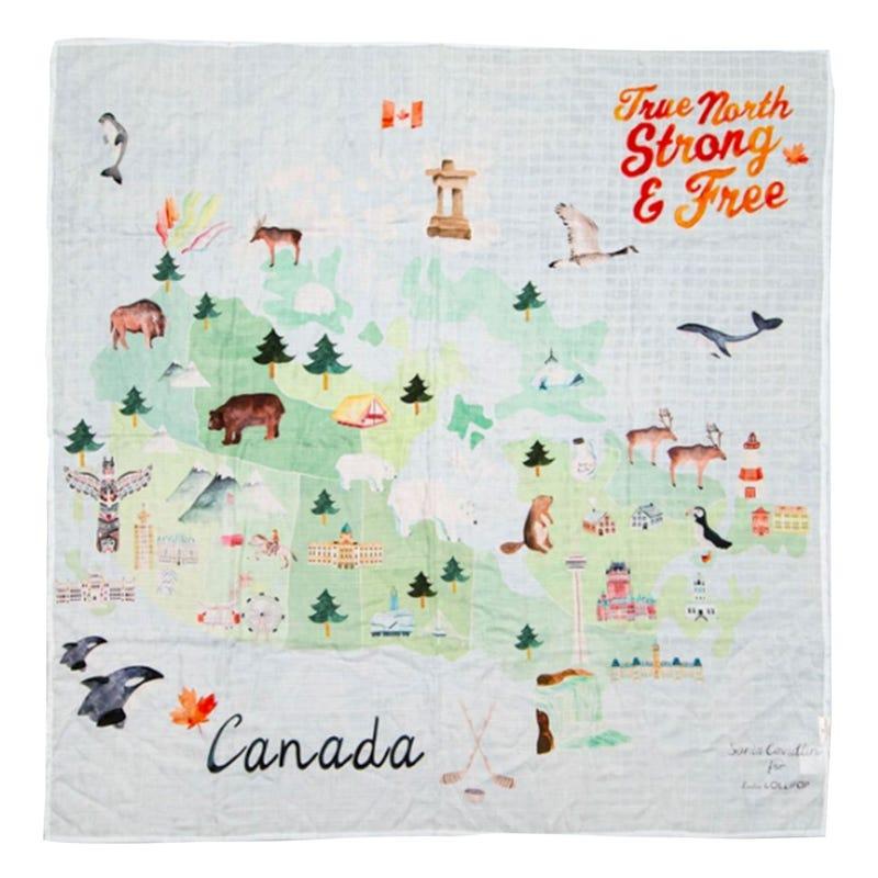 Couverture Mousseline Bambou - Canada