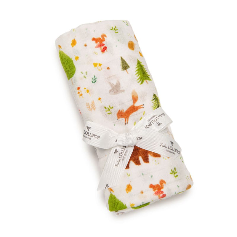 Swaddle Blanket - Forest Friends