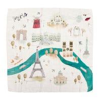 Bamboo Swaddle Blanket - Paris