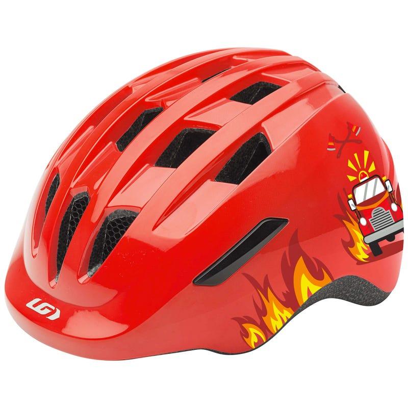Bicycle Helmet Piccolo Junior - Firetruck