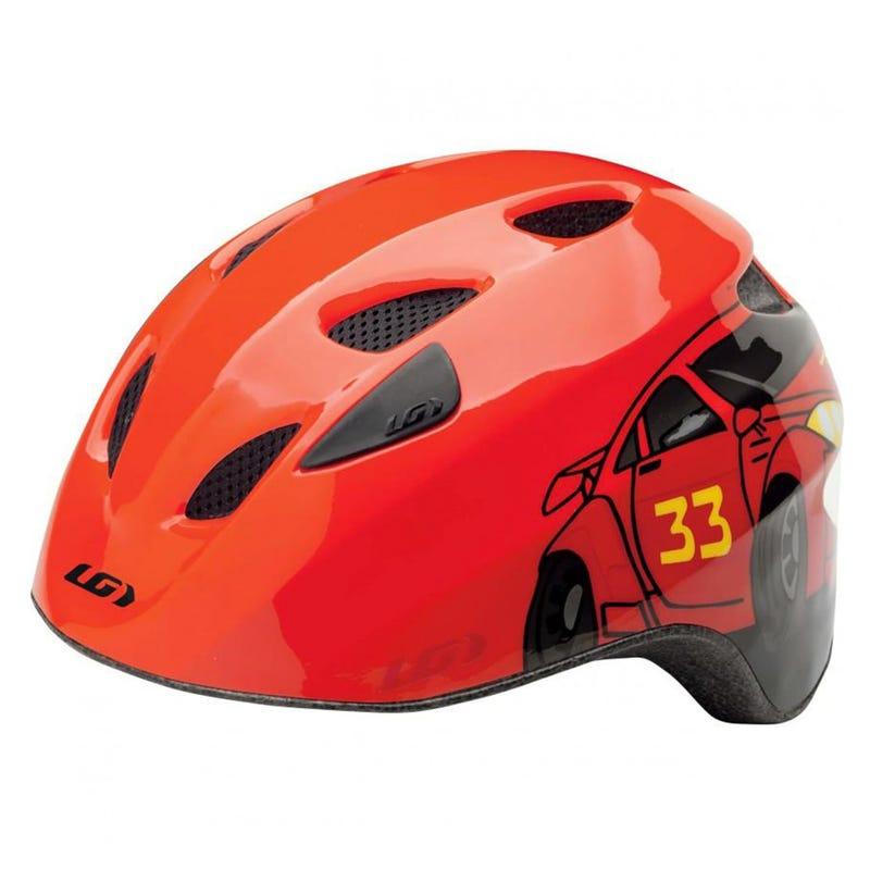 Brat Cycling Helmet - Red Car