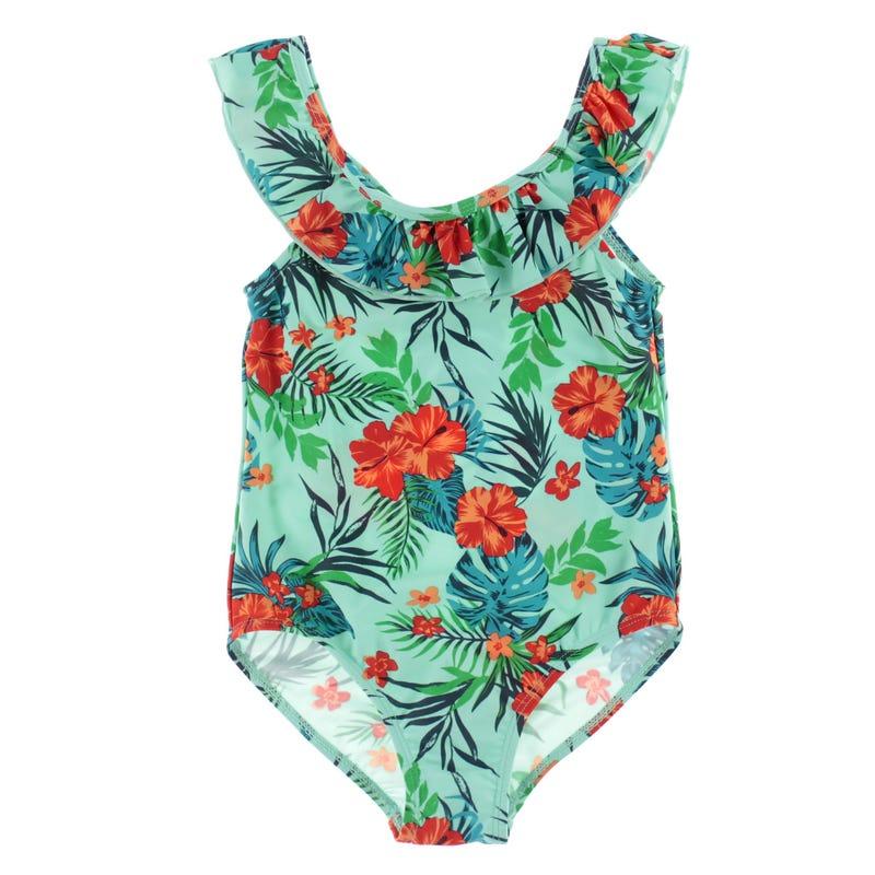 Hibiscus UV Swimsuit 2-8