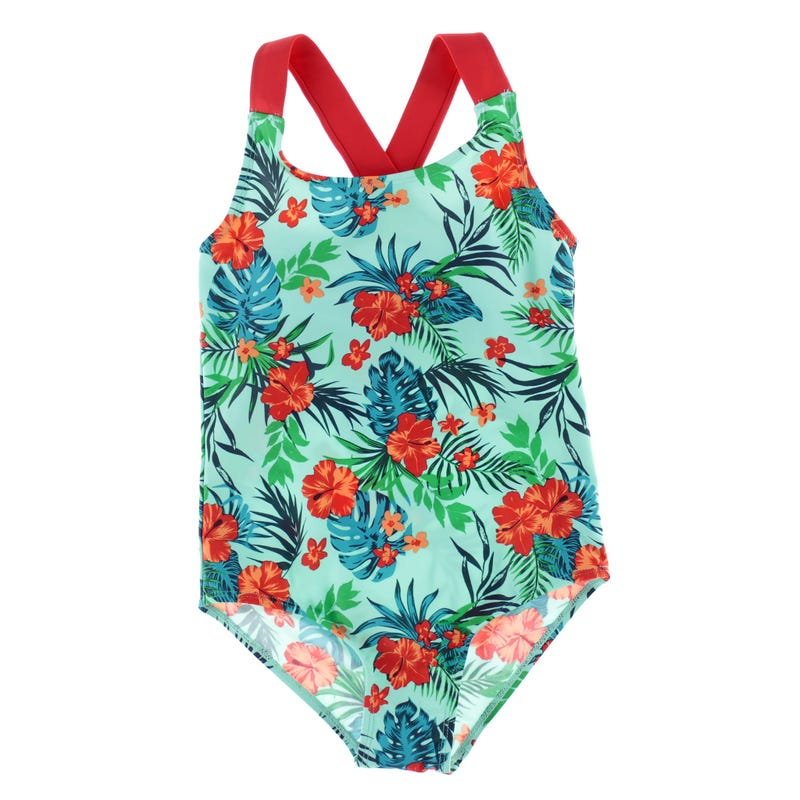 Hibiscus UV Swimsuit 7-14