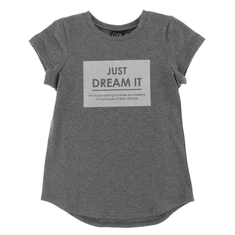 T-Shirt Dream Fleurs 7-14ans