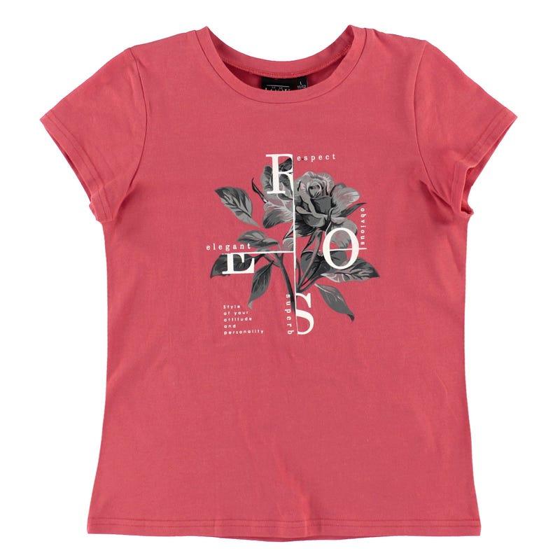T-Shirt Fleurs 7-14ans