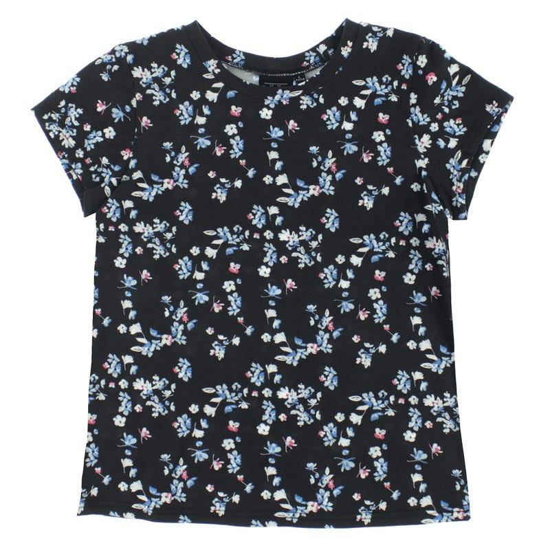 T-Shirt Imprimé Fleurs 7-14ans