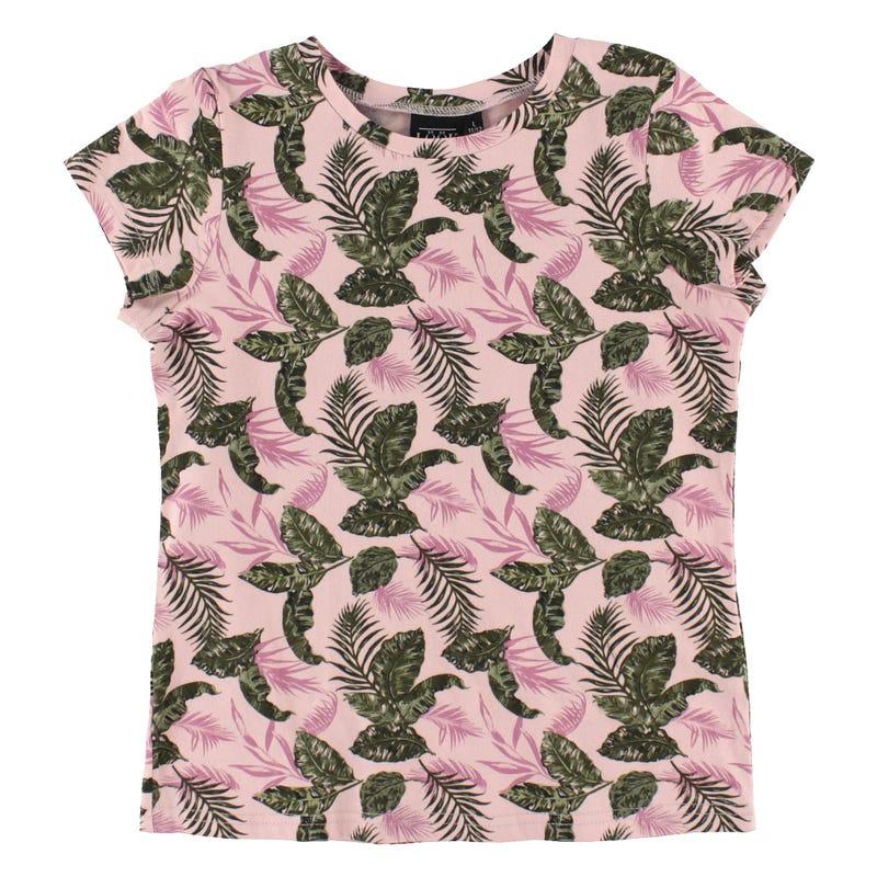 T-Shirt Imprimé Tropique 7-14ans