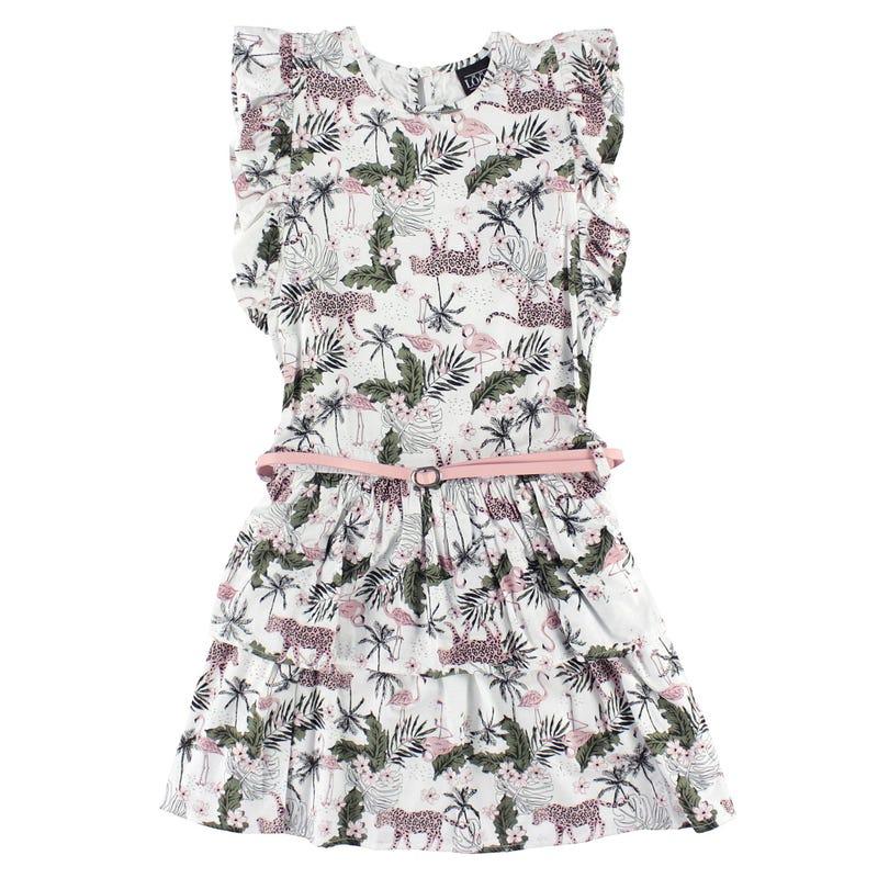 Robe Imprimé Tropique 7-14ans